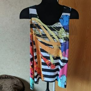 Cover charge size small sleeveless blouse